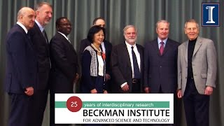 Watch Beckman Institute 25th Anniversary Opening Remarks