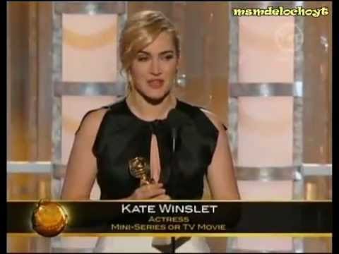 Golden Globes 2012 - Kate Winslet - Best Actress Mini-Series or Tv Movie