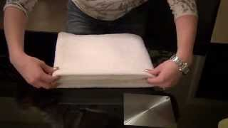 _=_Relaxing Towel Folding Tutorial/ASMR_=_