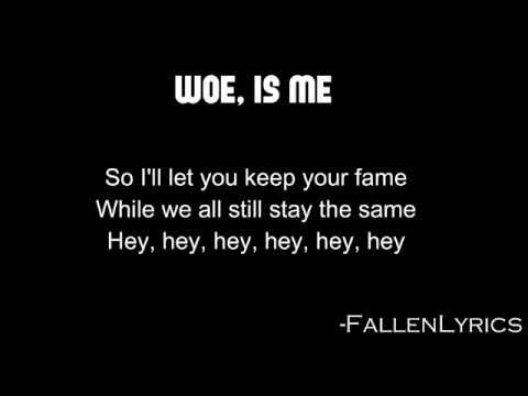 Woe, Is Me - A Story To Tell [Lyric Video] [HD]