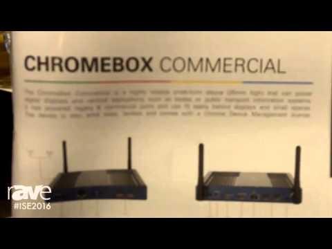 ISE 2016: Minouche Van Den Berg of AOPEN Shows Off the Chromebox Commercial
