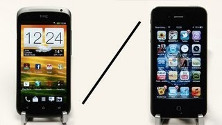 HTC One S Vs iPhone 4S Speed Test Comparison
