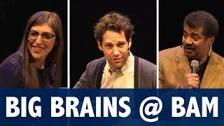 StarTalk Live Podcast: Big Brains at BAM with Neil deGrasse Tyson