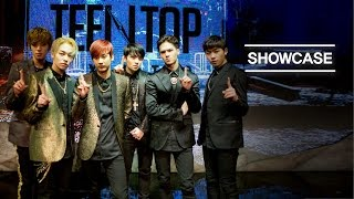 [MelOn Premiere Showcase] TEEN TOP(틴탑)_Missing(쉽지않아) + Cry(울어) + Love is...(지독하다) [ENG/JPN/CHN SUB]
