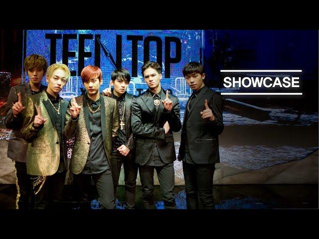 [MelOn Premiere Showcase] TEEN TOP(틴탑) _ Missing(쉽지않아) + Cry(울어) + Love is...(지독하다) [ENG/CHN SUB]