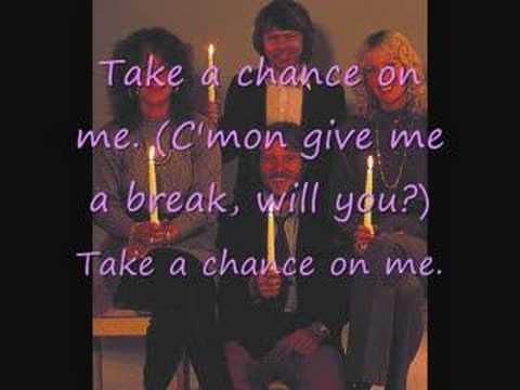 [Lyrics] ABBA-Take a Chance on Me