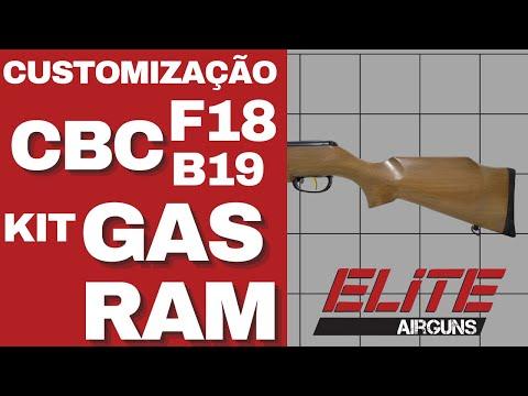 Customização da Carabina de Pressão CBC F18 B19 S GAS RAM Elite Airguns