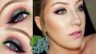 Pokemon Go   MAKEUP TUTORIAL   BULBASAUR INSPIRED   Glamnanne