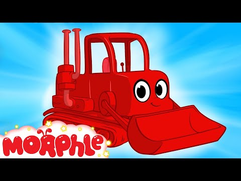 My Red Bulldozer - My Magic Pet Morphle Episode #17