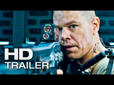 ELYSIUM Offizieller Trailer 2 Deutsch German | 2013 Official Matt Damon [HD]