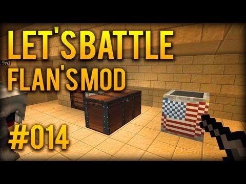 Let's Battle Minecraft S8 - #014 - 2 Waffen = BESSER als eine [ Flan's Mod . Staffel 8]