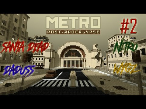 #2 Let's Play Minecraft : Metro Post-Apocalyptic - SA GALERE A JUMP !!