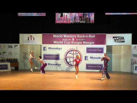 Murashov - Nikeenkova (RUS) & Youdin -Sbitneva (RUS) - World Masters Moskau 2011