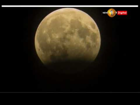 lunar eclipse to be |eng