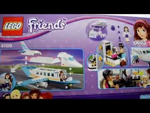 Lego Disney Friends 41100 Heartlake Private Jet - Lego Speed Build