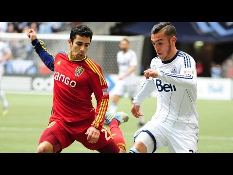 HIGHLIGHTS: Vancouver Whitecaps vs. Real Salt Lake | April 13, 2013