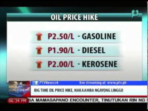News@6: Big time oil price hike, nakaamba ngayong linggo || Feb. 9, 2015