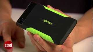 Silicon Power Armor A15 is a fast and rugged portable drive.