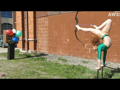 TOP FIVE: Pool Trick Shots, Gymnastics & Parkour   PEOPLE ARE AWESOME 2016