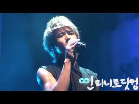 [fancam] 100919 인피니트Infinite 우현WooHyun - 내 여자라니까 @ 100일기념 팬미팅