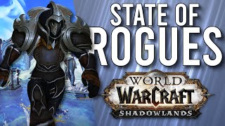 How GOOD Are They? The State Of ROGUES In Shadowlands! - WoW: Shadowlands Alpha