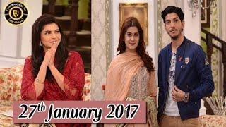 Good Morning Pakistan - 27th January 2017 - ARY Digital Morning Show