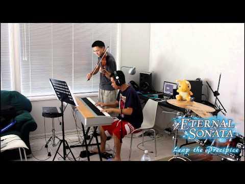 """Eternal Sonata """"Leap The Precipice"""" Battle Theme Violin/Piano"""
