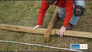 How to Install a Split Rail Fence | Homeclick.com