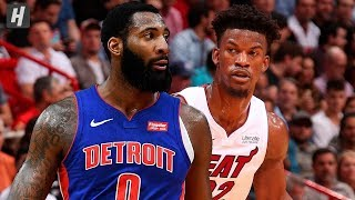 Detroit Pistons vs Miami Heat - Full Game Highlights | November 12, 2019 | 2019-20 NBA Season