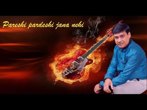 Pardeshi pardeshi jana nehi on Guitar