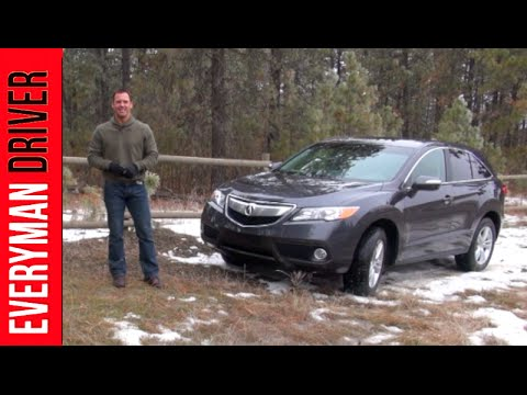 2014 Acura RDX AWD Off-Road Test Review on Everyman Driver