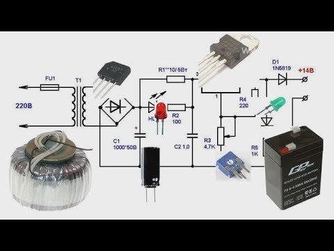 Зарядные устройства своими руками акб