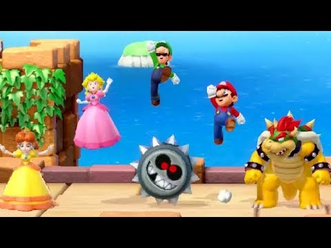 Super Mario Party - All Enemy Minigames