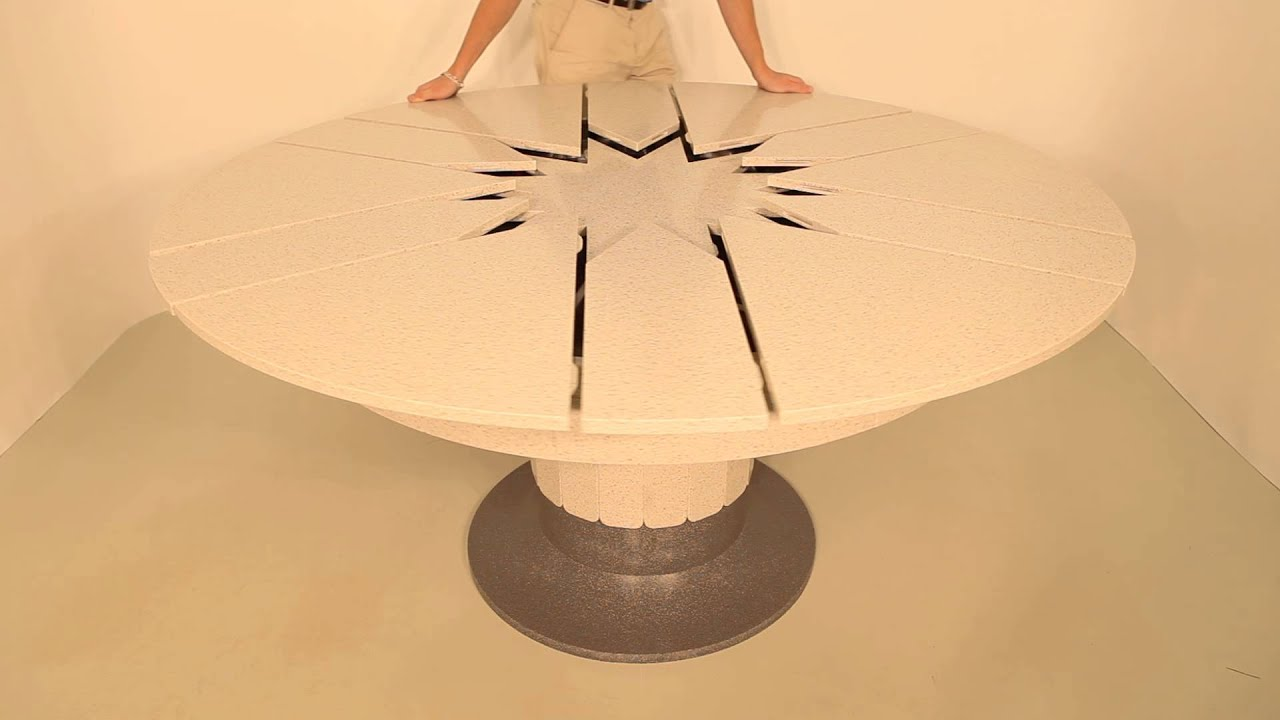 Как сделать круглый стол трансформер из дерева своими руками