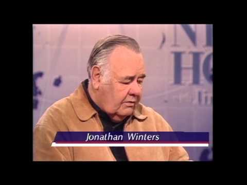 Jim Lehrer Interviews Comedian Jonathan Winters
