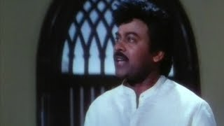 My Boss - Big Boss Malayalam Movie Scenes - Chiranjeevi proving Srihari guilty in court - Meena, Roja