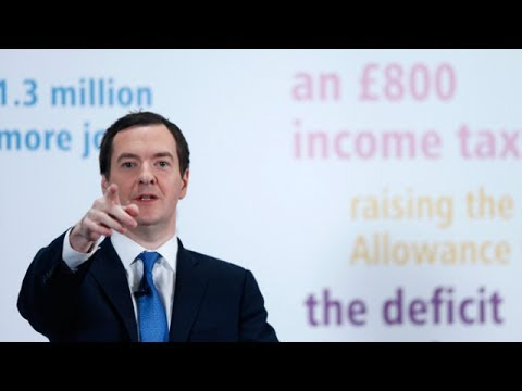 The British recovery: Remarks by George Osborne, chancellor of the Exchequer