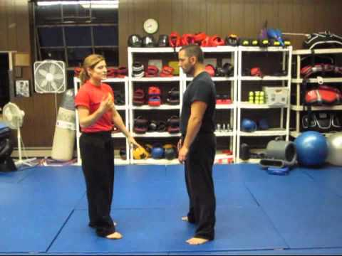 Kuntao Jiu-Jitsu: Instructional Training Video: Self-Defense Technique - Pulling Wrist Grab Image 1