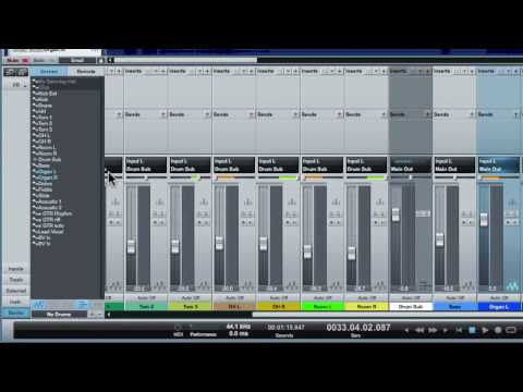 Studio One How-To: Set up a multitrack mix