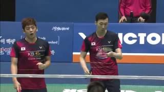 Victor Korea Open 2016   Badminton F M2-MD   Lee/Yoo vs Li/Liu