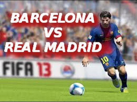 FIFA 13 | PS3 | Amazing El Clásico | F.C. Barcelona vs Real Madrid