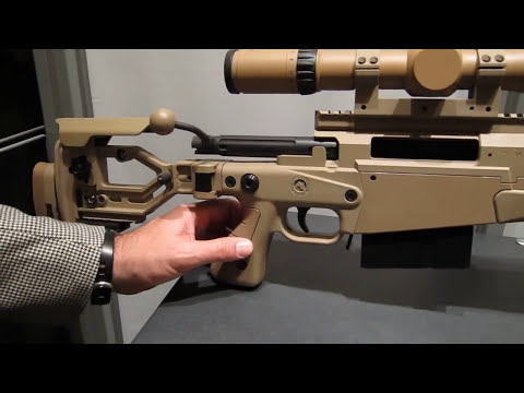 Accuracy International AX338 Lapua Magnum Sniper Rifle Made in England