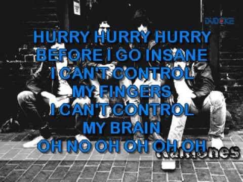 Ramones, The   I Wanna Be Sedated