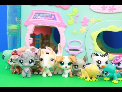 BIGGEST Littlest Pet Shop House Hasbro review klip izle