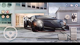 Lamborghini Real Car Parking 2, Driving school