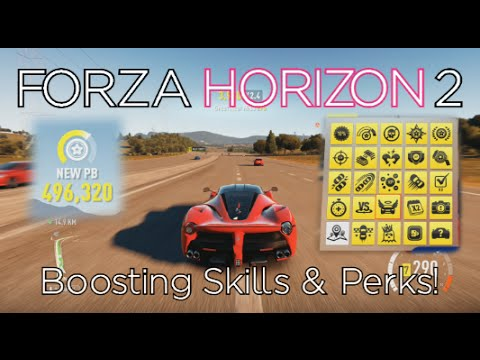 Forza Horizon 2 - How to BOOST Skill Points & Perk Unlocks - Stone Cold Skiller Achievement Guide