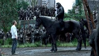 """""""Do Not Come Back"""" DAWN OF THE PLANET OF THE APES Movie Clip 4"""