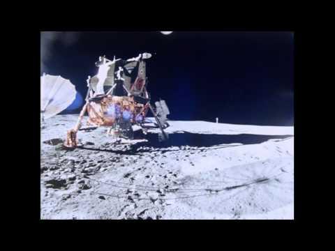 Edgar Mitchell Apollo Moonwalker Dies at 85 (silent video)