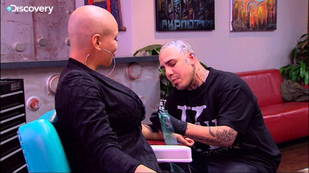 Alien Tattoo - NY Ink - YouTube