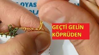 Geçti Gelin Köprüden Yazma Örneği needle and thread